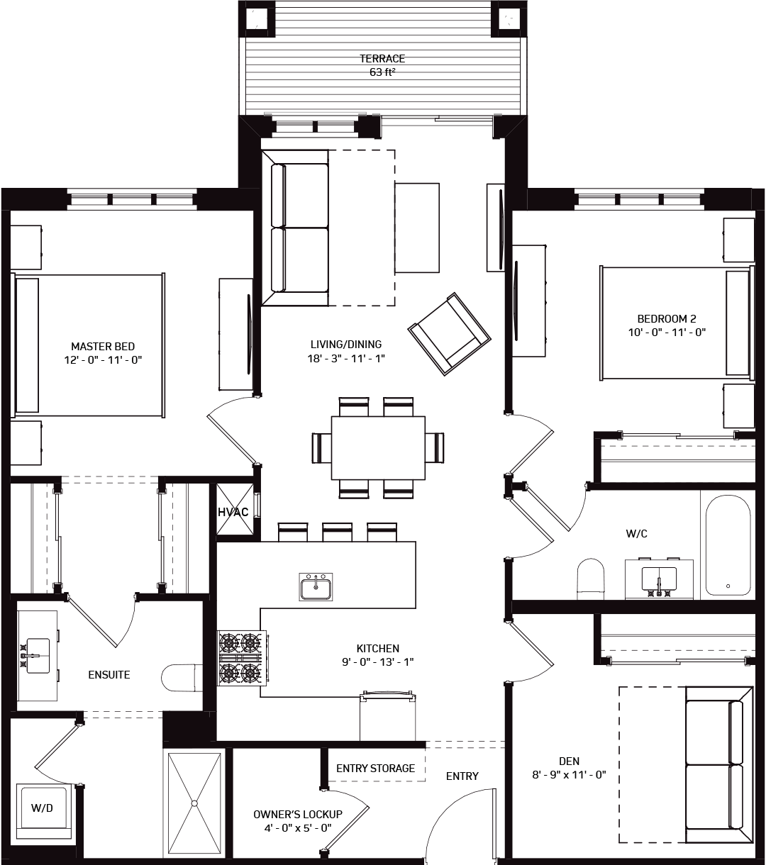 Valley Lodge Summit Floorplans Image
