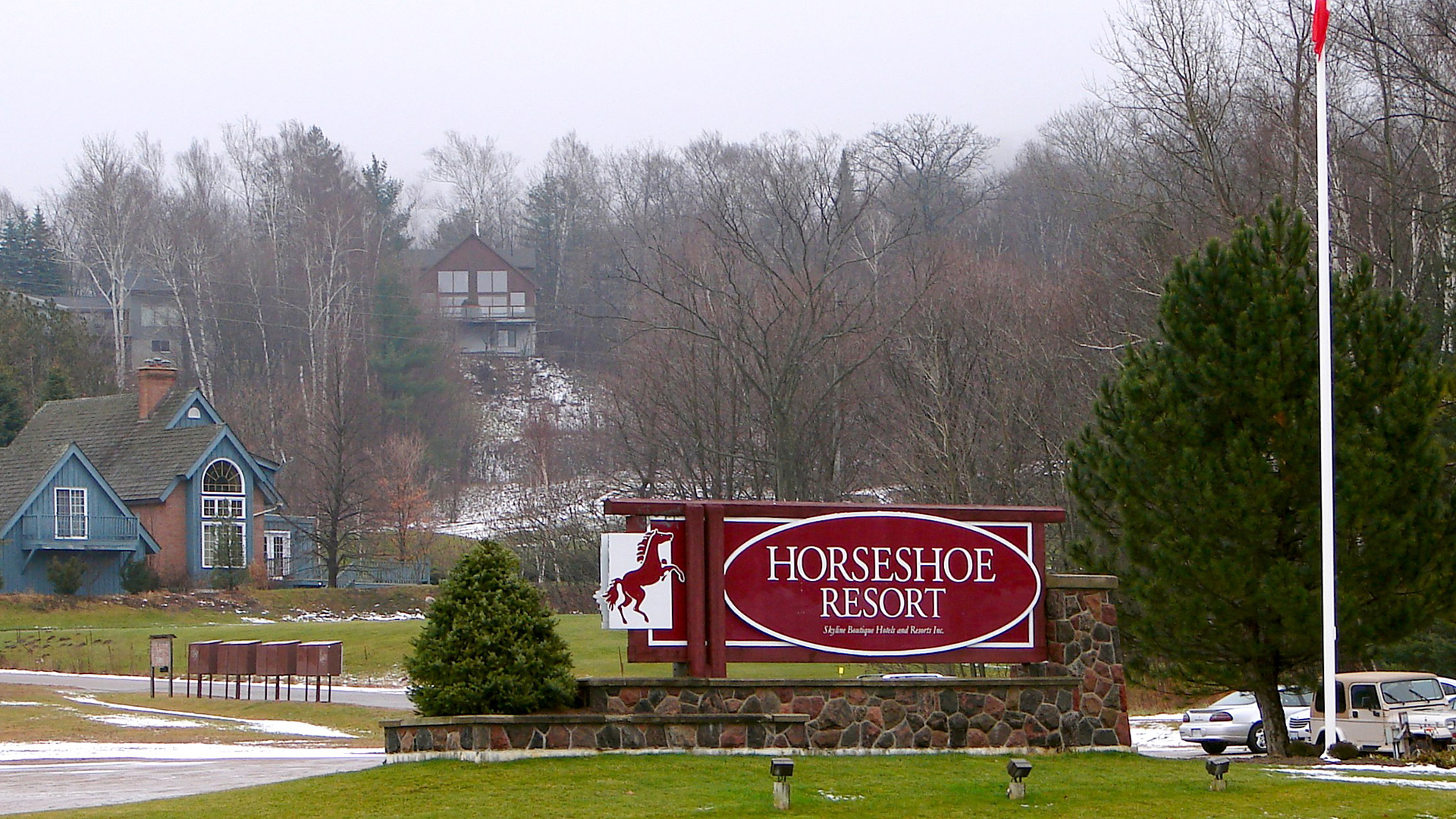 1990's Horseshoe Resort Residences Image to show History