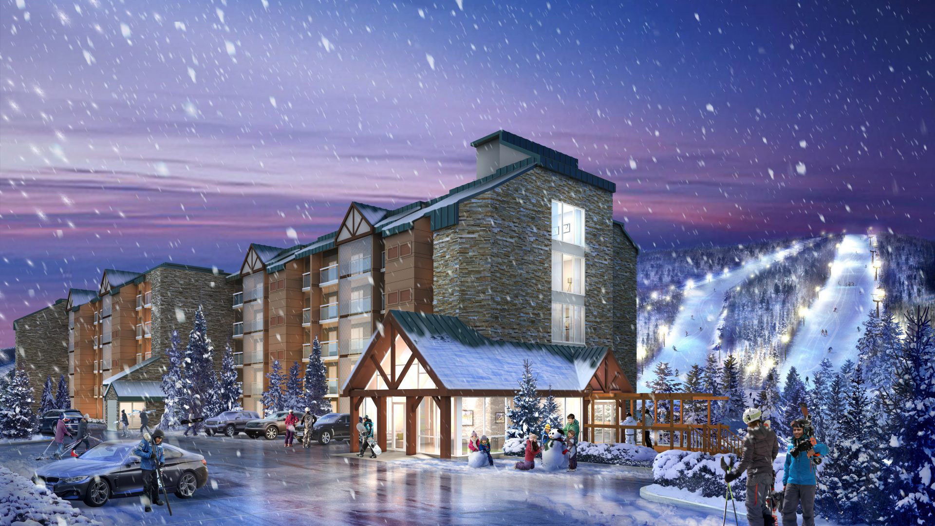 2010's Horseshoe Resort Residences Image to show History