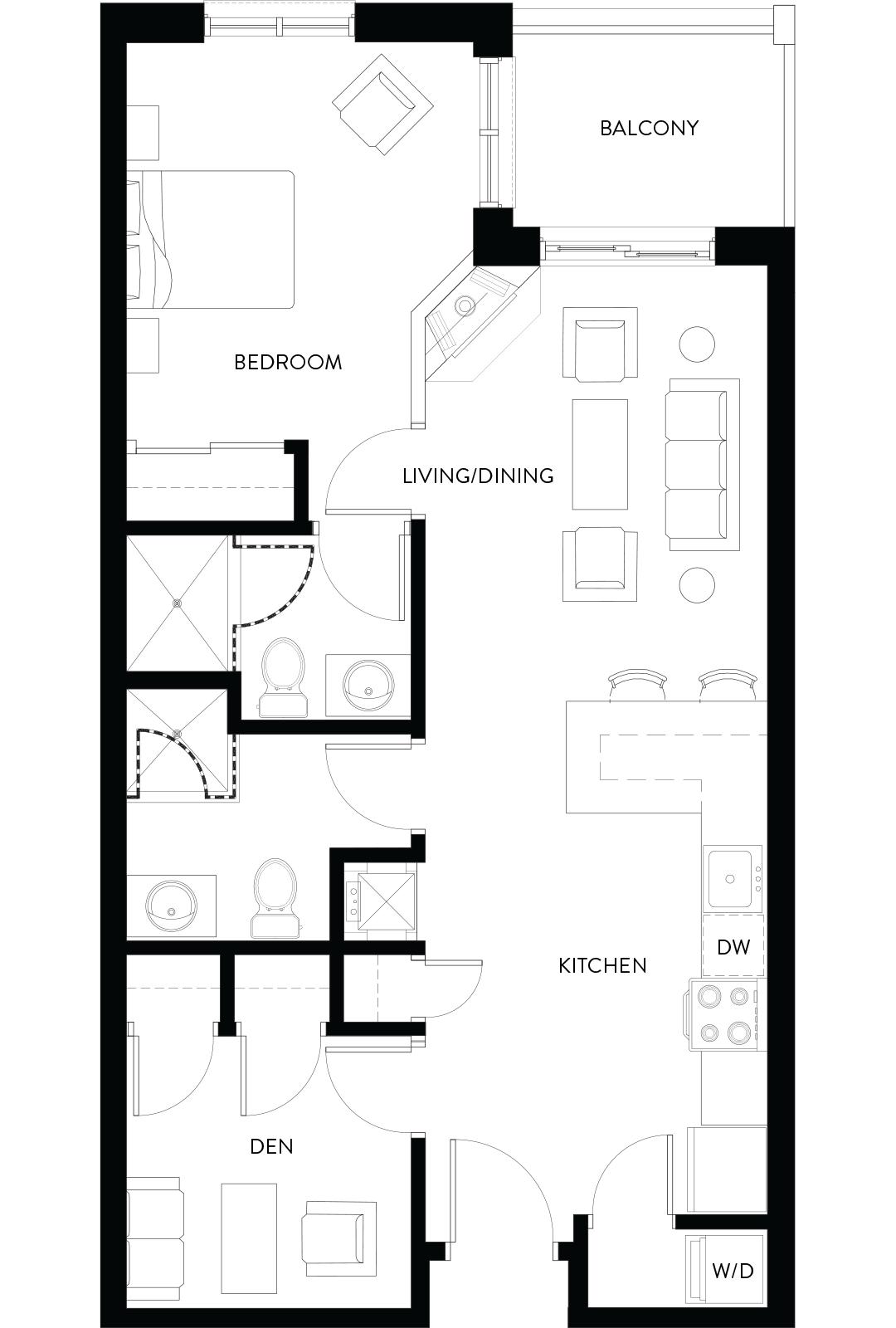 Copeland House Ridge Floorplan Image