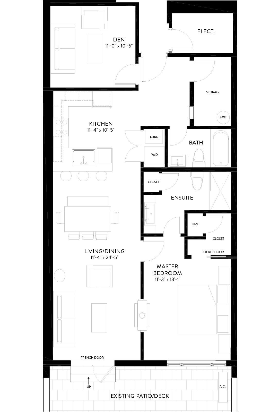Slopeside Hillsdale Floorplans Image