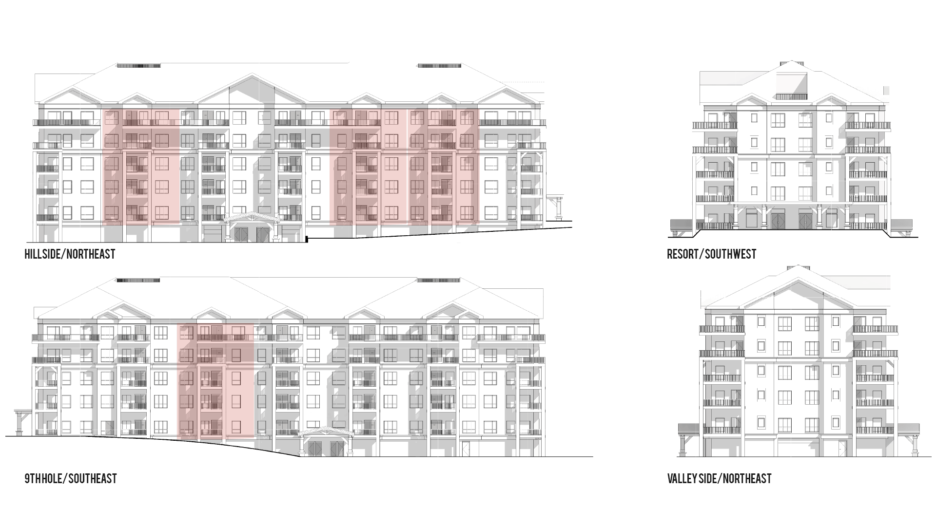 Valley Lodge Summit Elevations Image